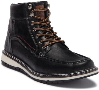 X-Ray Lace-Up Moc Toe Boot