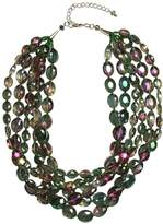 Ananda Iridescent Crystal Necklace