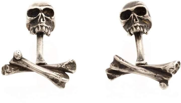 Werkstatt:Munchen skull cufflinks