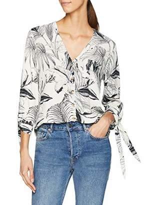 Dorothy Perkins Women's Palm Tie Shirt(Size:)