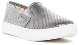 Steve Madden Corrine Metallic Perforated Slip-On Sneaker (Little Kid & Big Kid)