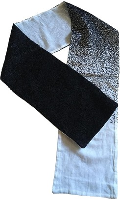 Raf Simons Black Cotton Scarves & pocket squares