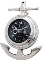 Eichholtz Anchor Maritime Clock Nickel