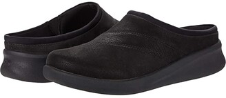 Clarks Sillian 2.0 Clog (Black Synthetic Combination) Women's Shoes