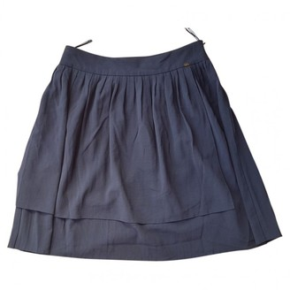 Sonia Rykiel Sonia By Blue Wool Skirt for Women