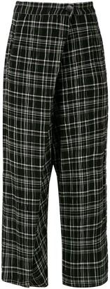 Uma   Raquel Davidowicz Malaui check trousers