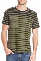 Rag & Bone Colorblock Stripe Tee