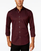 Alfani Men's Gingham Long-Sleeve Shirt