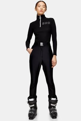 Topshop Womens **Black Skinny Ski Trousers By Sno - Black