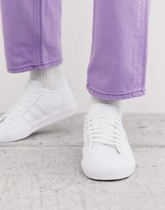 adidas Skateboarding Skateboarding matchcourt trainers white perforated leather