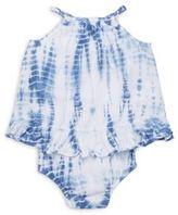 Ralph Lauren Baby's Tie-Dyed Bubble Bodysuit