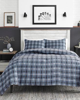 Nautica Jeans Co Pinecrest Charcoal Comforter Set