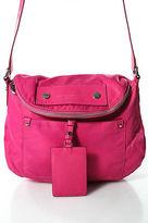 Marc by Marc Jacobs Pink Nylon Zipper Closure Crossbody Handbag