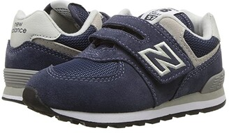 New Balance KX574v1I (Infant/Toddler) (Navy/Grey) Boys Shoes