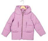 Tia Cibani Girls' Polka Dot Puffer Coat w/ Tags