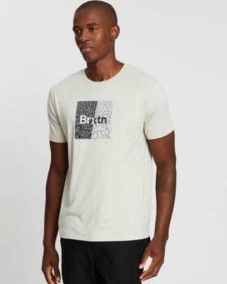 Brixton Crowd Art Short Sleeve Tee