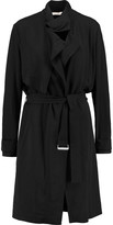 IRO Cameron belted crepe trench coat