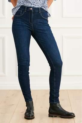Next Womens Dark 360 Super Skinny Jeans - Blue