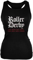 Old Glory Roller Derby For Those Who Dont Play Well With Others Juniors Soft Tank Top