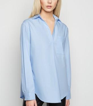 New Look Poplin Collared Overhead Shirt