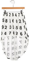 Nununu Girls' Number Print High-Low Skirt