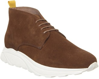 Ask the Missus Lacrosse Chukka Boots Rust Suede