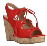 F&F Ghille Wedge Sandals, Women's