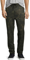 Rag & Bone Drawstring Everett Trousers, Camo