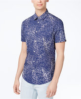 Ben Sherman Men's Slim-Fit Floral-Print Shirt