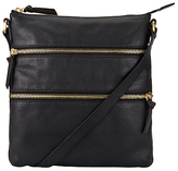 John Lewis Harriet Leather Large Cross Body Bag