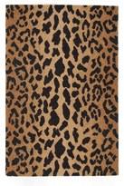 Dash & Albert Leopard Print Wool Rug