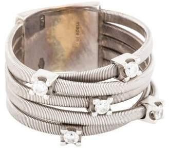 Marco Bicego 18K Diamond Five Row Goa Ring