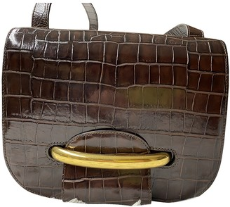 Mulberry Burgundy Exotic leathers Handbags