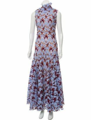 Giambattista Valli 2018 Evening Dress w/ Tags blue