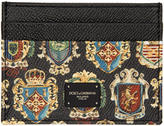 Dolce & Gabbana Black Crest Card Holder