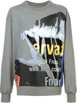 Juun.J printed sweatshirt