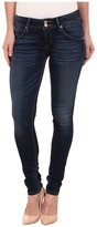 Hudson Collin Skinny Jeans in Blue Gold