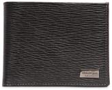Salvatore Ferragamo Revival Embossed Leather Classic Wallet
