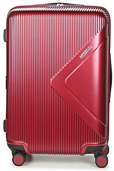 American Tourister MODERN DREAM 69CM 4R women's Hard Suitcase in Red