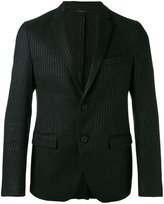 Fendi textured two button blazer - men - Cotton/Jute/Viscose - 46