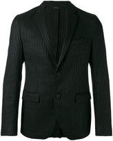 Fendi textured two button blazer