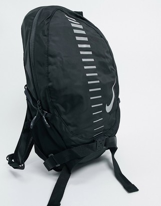 Nike Running commuter backpack in black