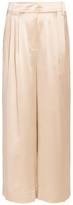 Tibi Cropped Silk Pants