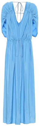 Stella McCartney Monica silk-blend maxi dress