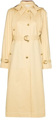 Wales Bonner Lloyd hooded trench coat