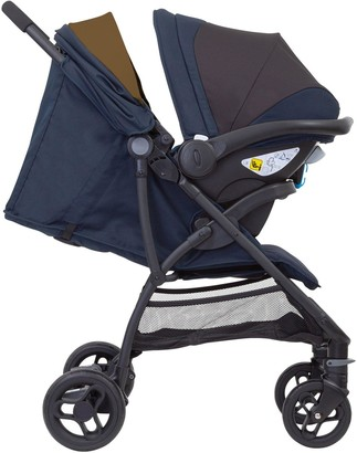 Graco Breaze Lite Travel System (With Snugessentials Isize Infant Car Seat)