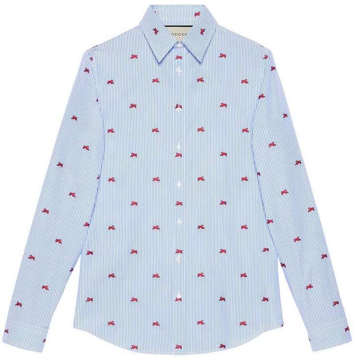 Gucci Panthers fil coupé shirt