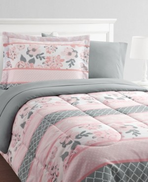 Mytex Carley Stripe 11-Piece Full Bed in a Bag Set Bedding