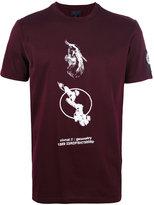 Lanvin semantics placed print T-shirt - men - Cotton - S