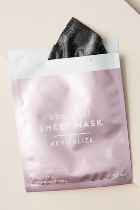 Viva Naturals Charcoal Sheet Mask By Viva Naturals in Pink